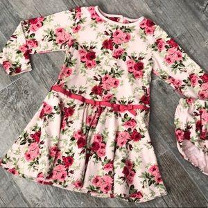 Gymboree Floral Dress 3T